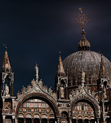 Venice Photo Framed Prints - Top of the Mark-Venice Framed Print by Tom Prendergast