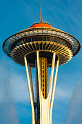 Top Of The Space Needle Print by Inge Johnsson
