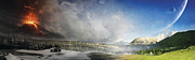 Panoramic Art - Topic Of Duality Winter-summer by Tobias Roetsch
