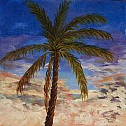 Darice Machel McGuire - Topical Palm Tree