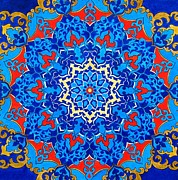 Kaleidoscope Paintings - Topkapi by Susanne McGinnis
