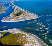 Topsail Island Posters - Topsail Glorious View Poster by Betsy A Cutler East Coast Barrier Islands