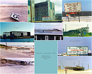 Fran Framed Prints - Topsail Island Images from the Past Framed Print by East Coast Barrier Islands Betsy A Cutler