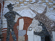 Mosaic Reliefs - Toreador by Nikolay Ilchevski