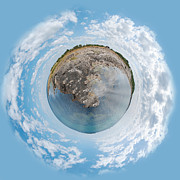 Fish. Spherical Prints - Torekov Panorama planet Print by Antony McAulay