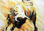 Toro Print by Juan Jose Espinoza