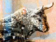 Most Sold Paintings - Toro Taurus Bull by Lutz Baar