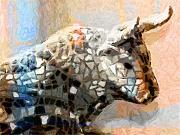 Toro Taurus Bull Print by Lutz Baar