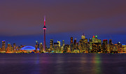Nina Stavlund Prints - Toronto by Night... Print by Nina Stavlund