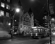 Howard Heywood Art - Toronto by Night by Howard Heywood