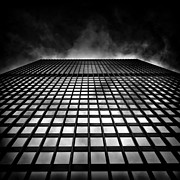 Blackandwhite Photo Posters - Toronto Dominion Centre No 79 Wellington St W Poster by Brian Carson