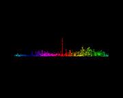 Toronto Rainbow Print by Brian Carson