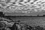 Port Credit Prints - Toronto Shoreline Print by Julie Brocca