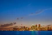 Toronto Skyline Print by Sebastian Musial