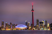 Centre Prints - Toronto Skyline Print by Shawn Everhart