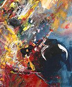Bullfight Paintings - Toroscape 64 by Miki De Goodaboom