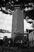 Torre Prints - Torre Colon Building Barcelona Catalonia Spain Print by Joe Fox