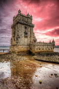 Nigel Hamer Prints - Torre de Belem Lisboa Print by Nigel Hamer