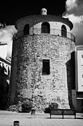 Torre Framed Prints - torre del port watchtower and museum Cambrils Catalonia Spain Framed Print by Joe Fox