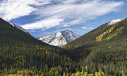 Skiing Art Metal Prints - Torreys Peak 3 Metal Print by Aaron Spong