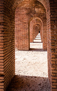 Dry Tortugas Photo Prints - Tortugas Infinite Walkway Print by Adam Pender