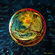 Spheres Digital Art - Tossed in the Baltic Sea by Robin Moline