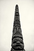 Puget Sound Prints - Totem at Pier 86 Print by Tanya Harrison