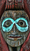 Tlingit Posters - Totem Poster by Heather Applegate