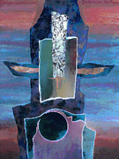 Sonoran Indian Posters - Totem Poster by Ursula Freer