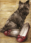 Toto Paintings - Toto by Meagan  Visser