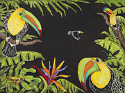 Nickie Bradley Metal Prints - Toucan Fun Metal Print by Nickie Bradley