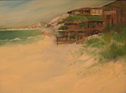 Sand Dunes Paintings - Toucans Restaurant by Susan Richardson