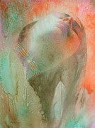 Original Watercolor Painting Metal Prints - Touch Of The Rainbow Metal Print by Robert Hooper