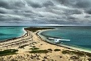 Dry Tortugas Photo Prints - Touchdown At Tortugas Print by Adam Jewell