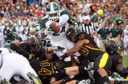 Michigan State Originals - Touchdown Earned by Adam Niemi