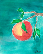 Fruit Tree Art Paintings - Touching the Water by Frank Bright
