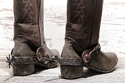 Boots Art - Tough Spurs by Olivier Le Queinec