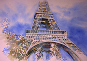 Tour Eiffel Print by Thomas Habermann