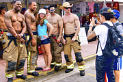 Firefighter Originals - Tourist and Firefighters by Dieter  Lesche