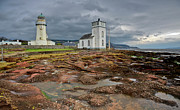 Argyll And Bute Prints - Toward Lighthouse  Print by Gary Eason