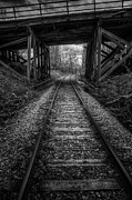 Train Crossing Prints - Toward the Unknown Print by Scott Norris