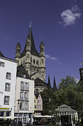 Teresa Mucha - Tower and Spire View Cologne