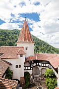 Dracula Photos - Tower at Bran Castle by Gabriela Insuratelu