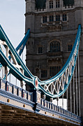 London Structure Prints - Tower Bridge 03 Print by Rick Piper Photography