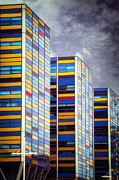 High-rise Prints - Tower Buildings Print by Joana Kruse