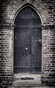 Medieval Entrance Prints - Tower Door Print by Heather Applegate