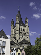 Teresa Mucha - Tower of Great St Martin Church Cologne