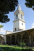 Topkapi Prints - Tower of Justice - Topkapi Palace - Istanbul Print by Christiane Schulze