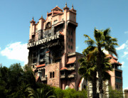 Magical Place Photographs Prints - Tower Of Terror Walt Disney World Print by Thomas Woolworth