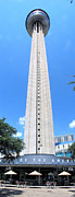 Tower Of The Americas Photos - Tower of the Americas by C H Apperson